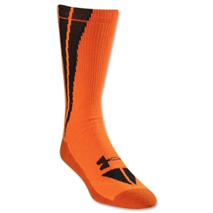 Under Armour Ignite Bolt Crew Sock (Org/Blk)