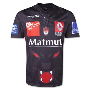 Lyon Home 13/14 Rugby Jersey