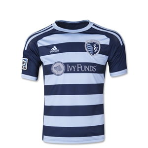 Sporting KC 2014 Youth Secondary Soccer Jersey