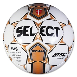 Select Royale Ball (White/Orange)