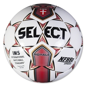 Select Royale Ball (White/Red)
