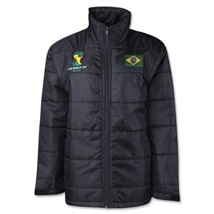 Brazil 2014 FIFA World Cup Puffer Jacket