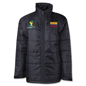 Colombia 2014 FIFA World Cup Puffer Jacket