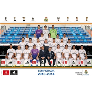 Real Madrid 13/14 Poster