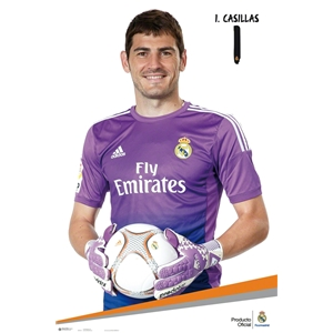 Real Madrid Casillas Poster