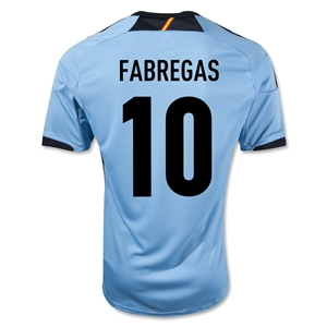 Spain 12/13 Cesc Fabregas Away Soccer Jersey