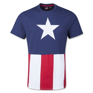 Captain America Caps T-Shirt
