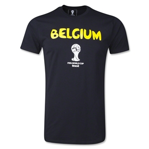 Belgium 2014 FIFA World Cup T-Shirt (Black)
