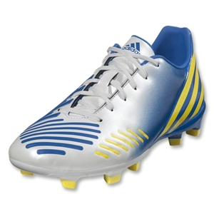 adidas Predator Absolado LZ TRX FG (White/Prime Blue/Vivid Yellow)