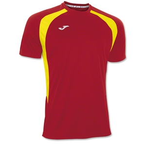 Joma Champion III Jersey (Red/Yellow)