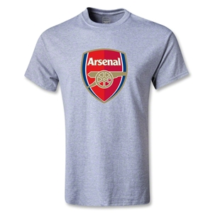 Arsenal Crest T-Shirt (Gray)