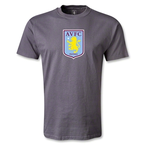 Aston Villa T-Shirt (Dark Gray)