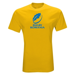 Rugby Romania T-Shirt (Yellow)