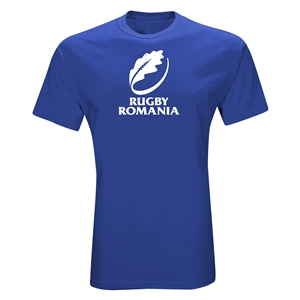 Rugby Romania T-Shirt (Royal)