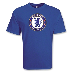 Chelsea Big Crest T-Shirt (Royal)