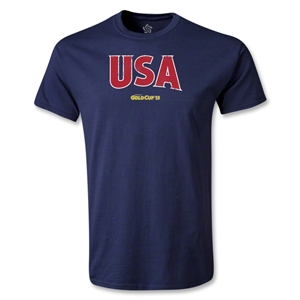 USA CONCACAF Gold Cup 2013 T-Shirt (Navy)
