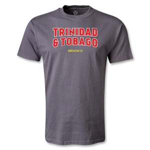 Trinidad and Tobago CONCACAF Gold Cup 2013 T-Shirt (Dark Gray)