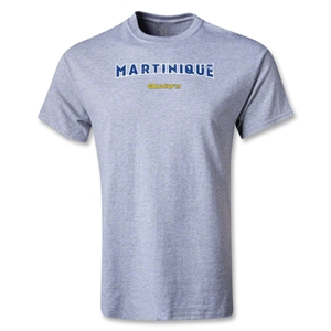 Martinique CONCACAF Gold Cup 2013 T-Shirt (Gray)