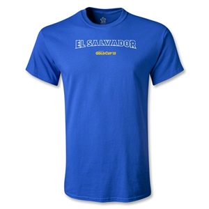 El Salvador CONCACAF Gold Cup 2013 T-Shirt (Royal)
