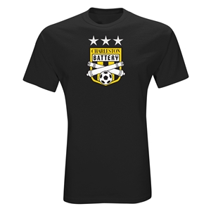 Charleston Battery Three Star T-Shirt (Black)
