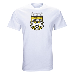 Charleston Battery Three Star T-Shirt (White)