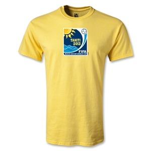 FIFA Beach World Cup 2013 Emblem T-Shirt (Yellow)