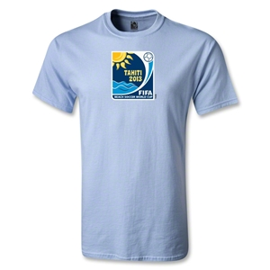FIFA Beach World Cup 2013 Emblem T-Shirt (Sky)