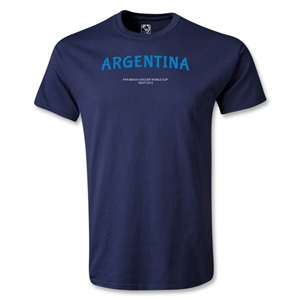 Argentina FIFA Beach World Cup 2013 T-Shirt (Navy)