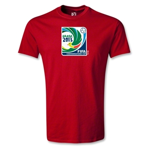 FIFA Confederations Cup 2013 Emblem T-Shirt (Red)