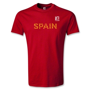 FIFA Confederations Cup 2013 Spain T-Shirt (Red)