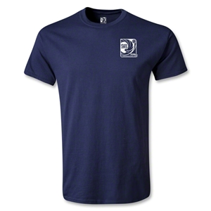 FIFA Confederations Cup 2013 Small Emblem T-Shirt (Navy)