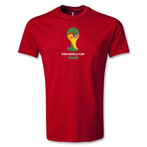 2014 FIFA World Cup Brazil(TM) Emblem T-Shirt (Red)