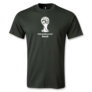 2014 FIFA World Cup Brazil(TM) Emblem T-Shirt (Dark Green)