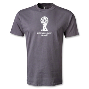 2014 FIFA World Cup Brazil(TM) Emblem T-Shirt (Dark Gray)