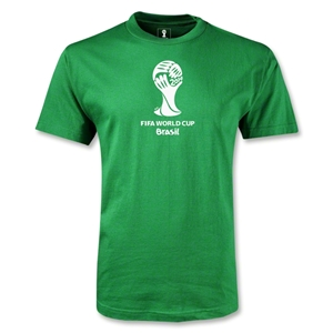 2014 FIFA World Cup Brazil(TM) Emblem T-Shirt (Green)