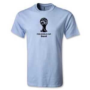 2014 FIFA World Cup Brazil(TM) Emblem T-Shirt (Sky Blue)
