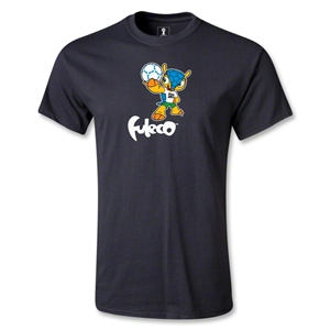 2014 FIFA World Cup Brazil(TM) Mascot Standard T-Shirt (Black)