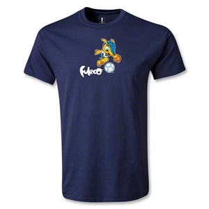 2014 FIFA World Cup Brazil(TM) Mascot Running T-Shirt (Navy)