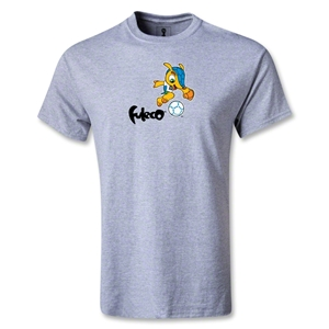 2014 FIFA World Cup Brazil(TM) Mascot Running T-Shirt (Grey)
