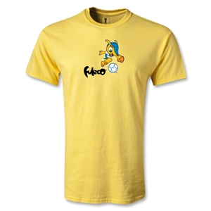 2014 FIFA World Cup Brazil(TM) Mascot Running T-Shirt (Yellow)