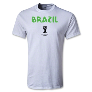 Brazil 2014 FIFA World Cup Brazil(TM) Core T-Shirt (White)