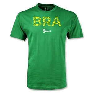 Brazil 2014 FIFA World Cup Brazil(TM) Elements T-Shirt (Green)