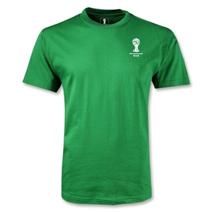 2014 FIFA World Cup Brazil(TM) Men's Emblem T-Shirt (Green)