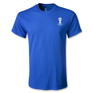 2014 FIFA World Cup Brazil(TM) Men's Emblem T-Shirt (Royal)