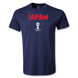 Japan 2014 FIFA World Cup Brazil(TM) Core T-Shirt (Navy)
