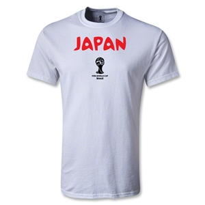 Japan 2014 FIFA World Cup Brazil(TM) Core T-Shirt (White)