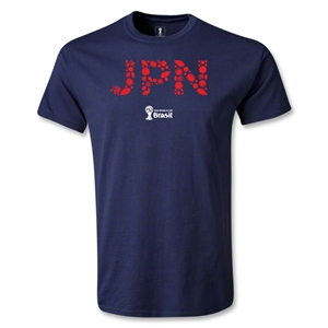 Japan 2014 FIFA World Cup Brazil(TM) Elements T-Shirt (Navy)