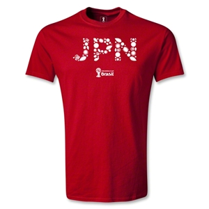 Japan 2014 FIFA World Cup Brazil(TM) Elements T-Shirt (Red)