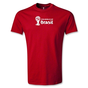 2014 FIFA World Cup Brazil(TM) Landscape T-Shirt (Red)