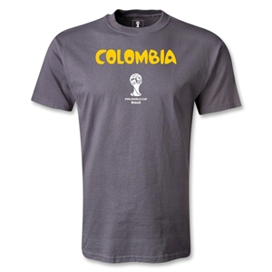 Colombia 2014 FIFA World Cup Brazil(TM) Core T-Shirt (Dark Gray)